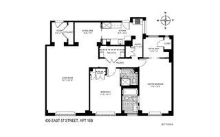 435 East 57th Street #16B floor plan