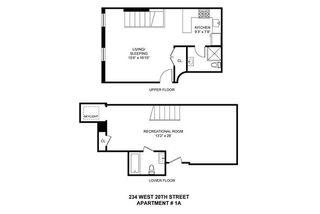 234 West 20th Street #1A floor plan