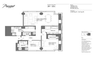 20 West 53rd Street penthouse floor plan