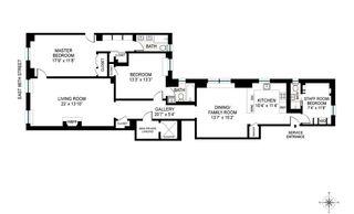 1170 Fifth Avenue #11C floor plan