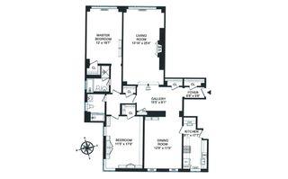 2 Sutton Place #15A floor plan