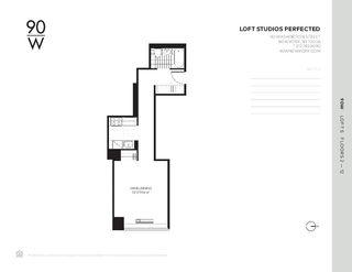 90 Washington Street #5S floor plan