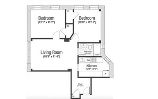55 West 95th Street #83 floor plan