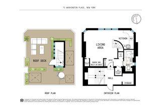 71 Washington Place #PH floor plan