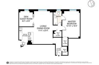 260 West End Avenue #14C floor plan