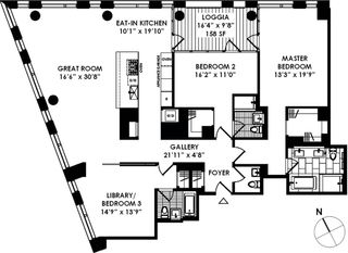 101 Warren Street floor plan