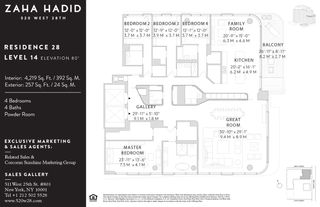520 West 28th Street #28 floor plan