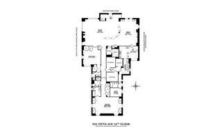 993 Fifth Avenue #11 floor plan