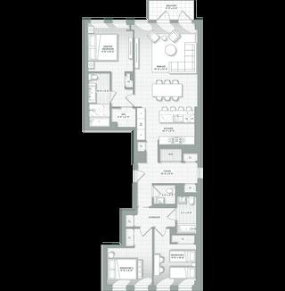 243 Fourth Avenue #4B floor plan