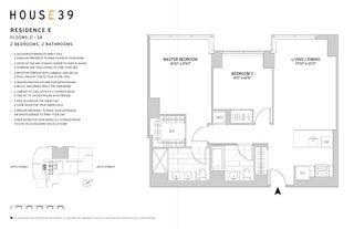 225 East 39th Street #28E floor plan