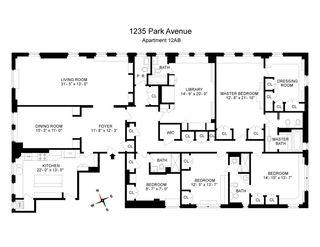 1235 Park Avenue #12AB floor plan