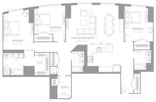 25 Park Lane South floor plans