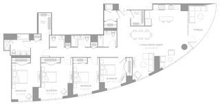 25 Park Lane South floor plan