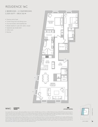 21 East 12th Street #16C floor plan