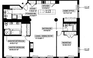 60 Broadway #8K floor plan