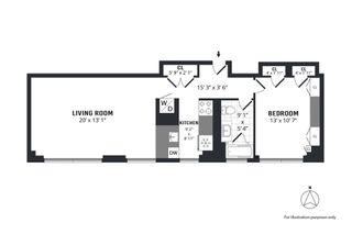 215 East 96th Street #PHD floor plan