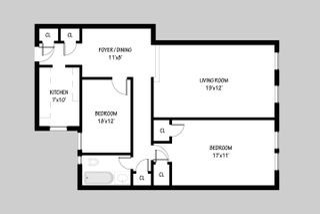 30-06 29th Street #2P floor plan