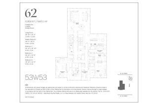 53 West 53rd Street #62 floor plan
