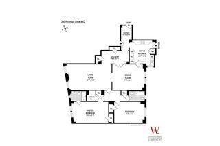 395 Riverside Drive #4C floor plan