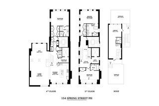 152 Spring Street #PH floor plan