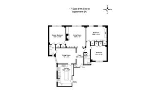 17 East 84th Street #6A floor plan