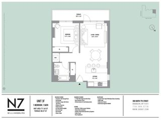 308 North 7th Street #3F floor plan