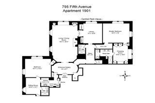 795 Fifth Avenue #1901 floor plan