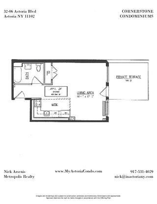 32-06 Astoria Boulevard #2D floor plan