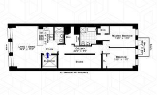 83 Walker Street #6 floor plan