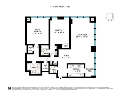 641 Fifth Avenue floor plan