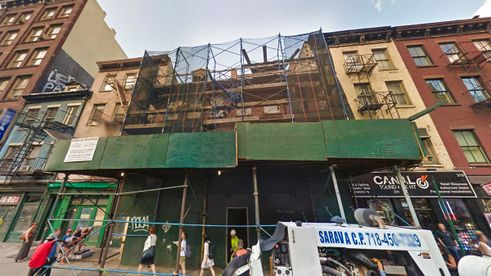 323 Canal Street Construction