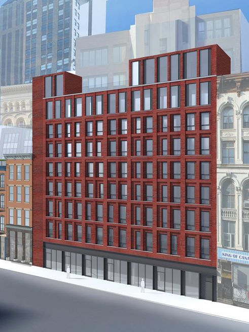 312 Canal Street Rendering