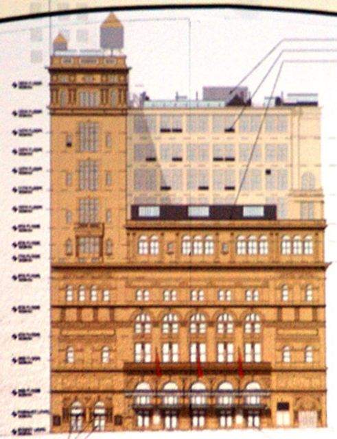 The Landmarks Preservation Commission Held A Hearing Today On Major Renovation And Modernization Plan For Carnegie Hall Building Which Is Famous Not