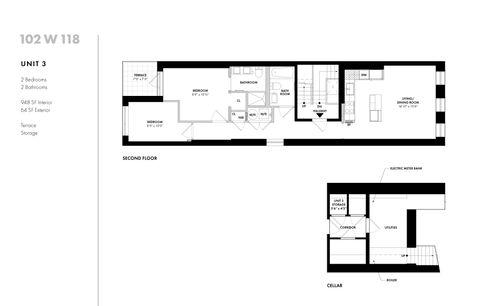 102 West 118th Street #3 floor plan