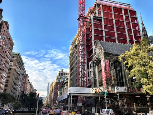 1010 Park Avenue Construction