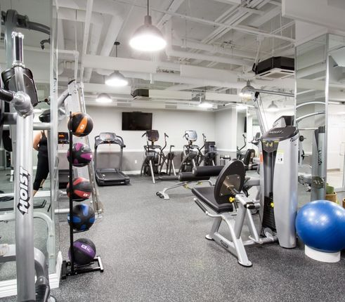 Fitness center at 41 Park Ave