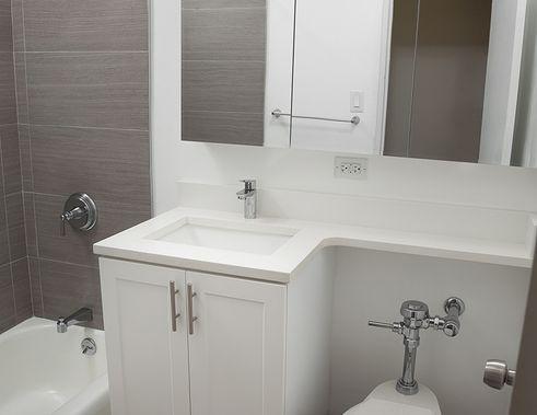 Lenox Terrace bathroom