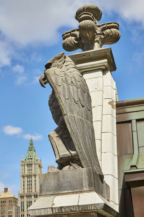 Liberty Tower statue