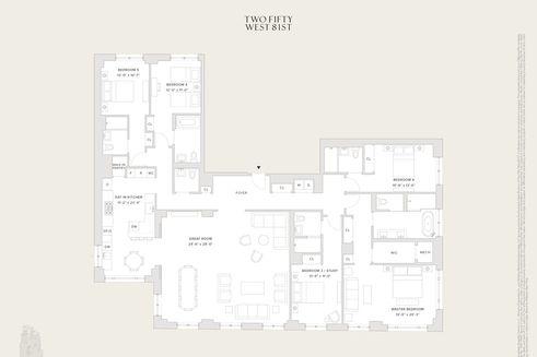 250 west 81st street floor plan