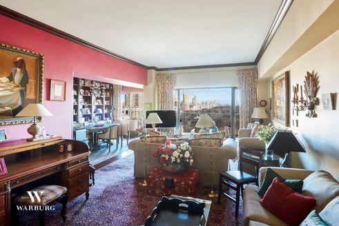 200 Central Park South Living Room