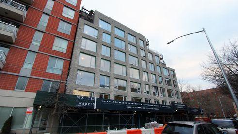 610 warren street, construction