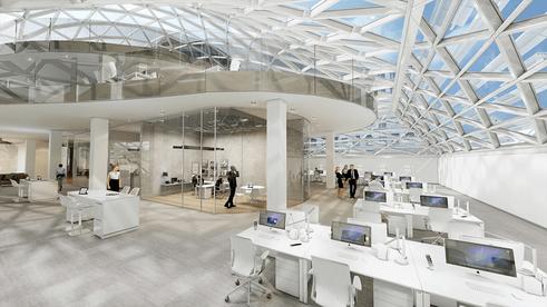 44 Union Square interior rendering