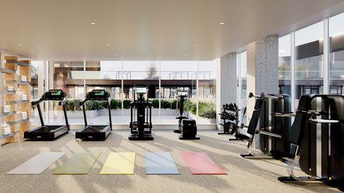 420 kent fitness center rendering