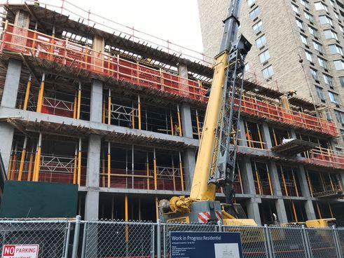 250 West 81st Street Construction 2