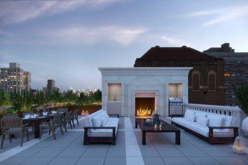 1110 Park Avenue outdoor space