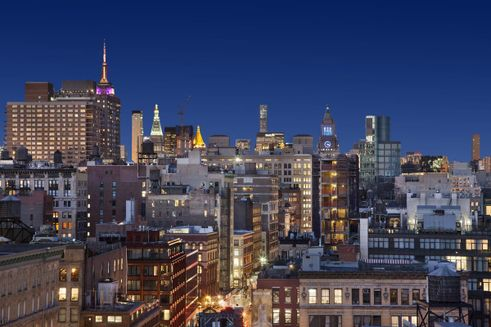 New york city skyline views