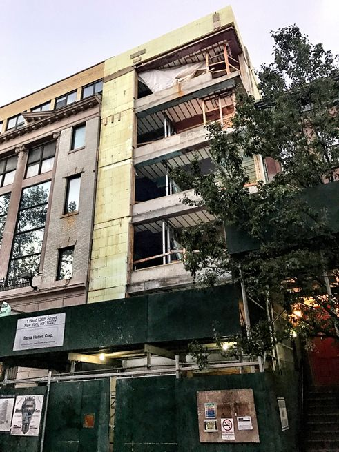 11 West 126th Street Construction 2