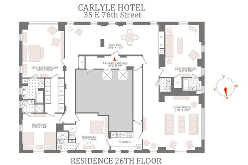 the carlyle floor plan