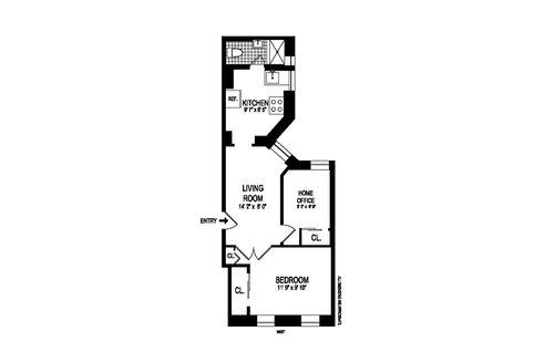 3692 Broadway #1 floor plan
