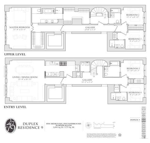 27 East 79th Street #9/10 floor plan